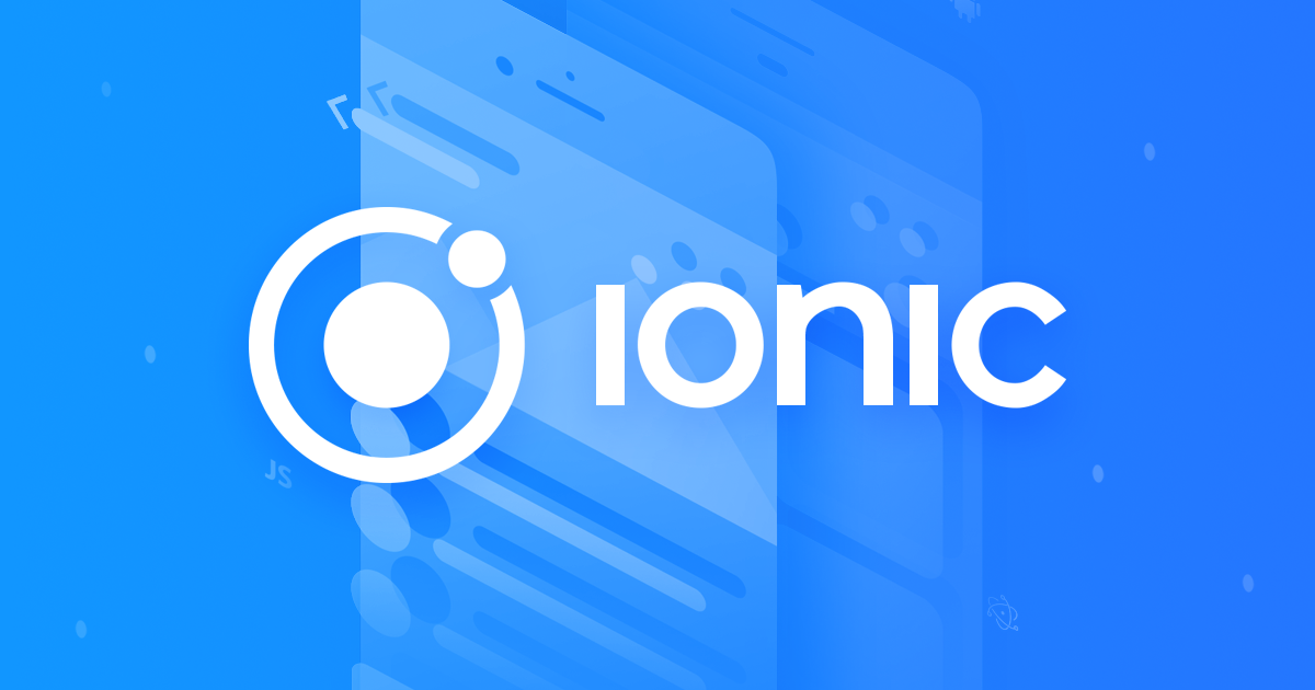 Image result for Ionic: one codebase. Any platform