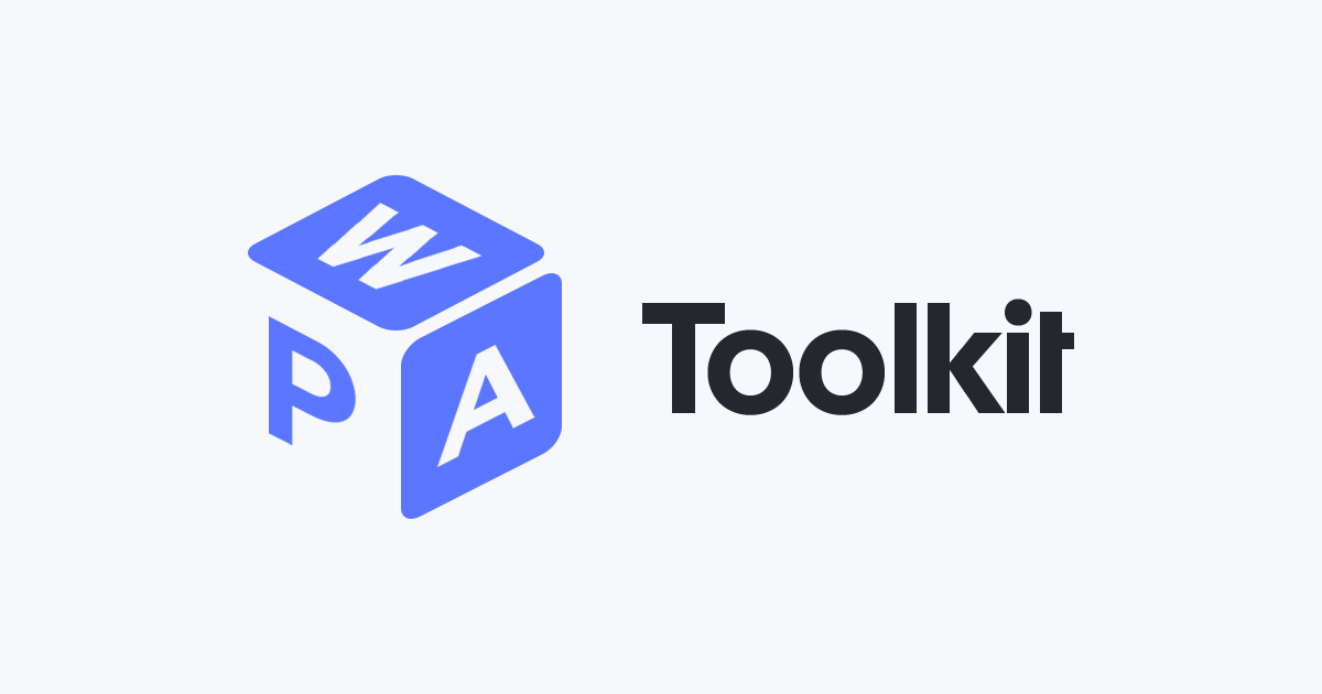 Ionic Framework - Pwa Toolkit